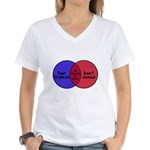 We Can Dance Women's V-Neck T-Shirt