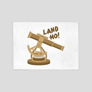 Land Ho 5'x7'Area Rug
