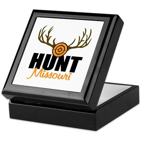HUnt Missouri Keepsake Box