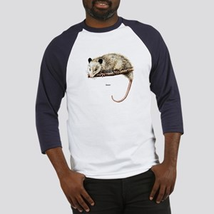 Opossum Possum (Front) Baseball Jersey