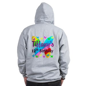 PERSONALIZED 12TH Zip Hoodie