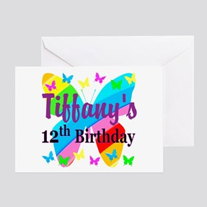 PERSONALIZED 12TH Greeting Card