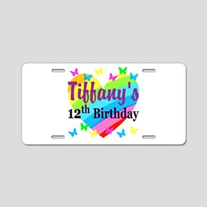PERSONALIZED 12TH Aluminum License Plate