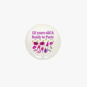 12TH BIRTHDAY Mini Button