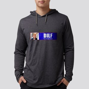 Trump DILF (Dotard I'd Lik Long Sleeve T-Shirt