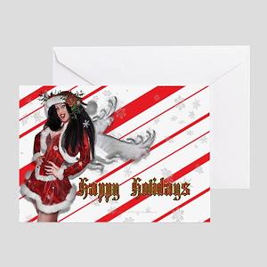 Holiday Angel Greeting Card