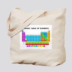 Periodic Table of Elements in Neon Tote Bag