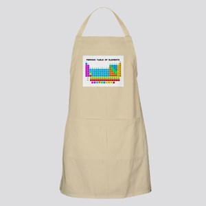Periodic Table of Elements in Neon Apron