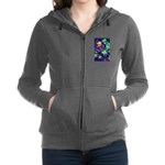 Colorful Plants Women's Zip Hoodie