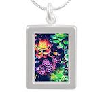 Colorful Plants Necklaces