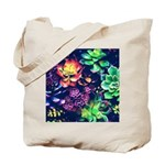 Colorful Plants Tote Bag