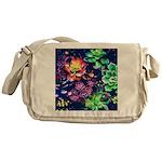 Colorful Plants Messenger Bag