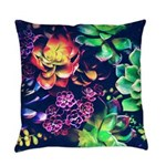 Colorful Plants Everyday Pillow