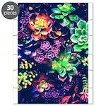Colorful Plants Puzzle