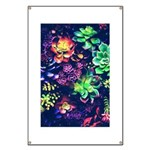 Colorful Plants Banner