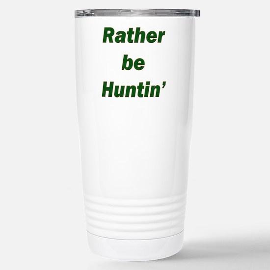 Rather Be Huntin' Mugs