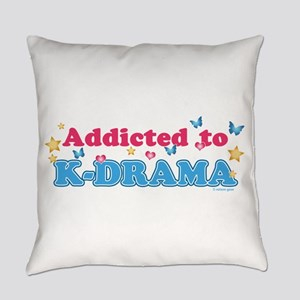 Addicted to K-Drama Everyday Pillow