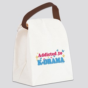 Addicted to K-Drama Canvas Lunch Bag