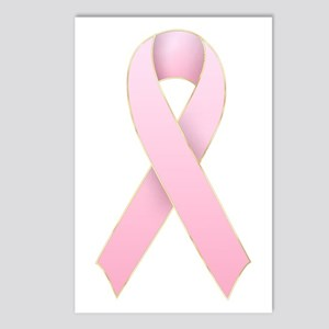 Pink Ribbon 1 Postcards (Package of 8)