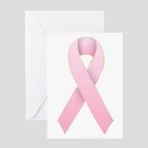 Pink Ribbon 1 Greeting Card