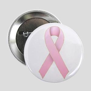 Pink Ribbon 1 Button