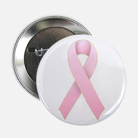 """Pink Ribbon 1 2.25"""" Button (100 pack)"""