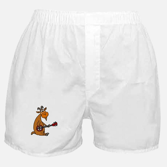 Goat Playing Banjo Boxer Shorts