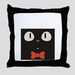 Penguin Vintage Throw Pillow