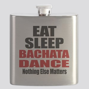 Eat Sleep Bachata Dance Flask