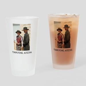 wyattanddocshirt Drinking Glass