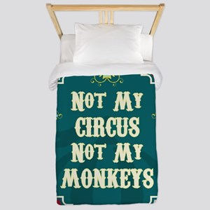 Not My Circus Twin Duvet