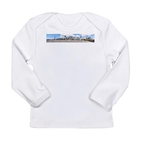 SuperDowntownPanorama2 Long Sleeve T-Shirt