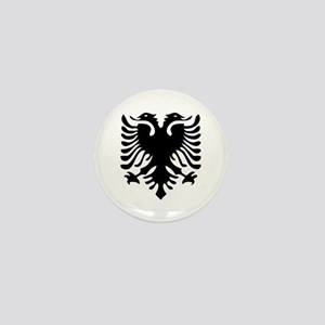 Albanian Eagle Mini Button