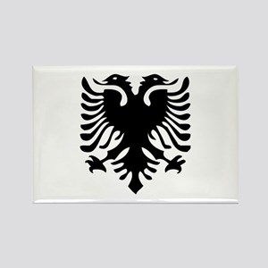 Albanian Eagle Rectangle Magnet