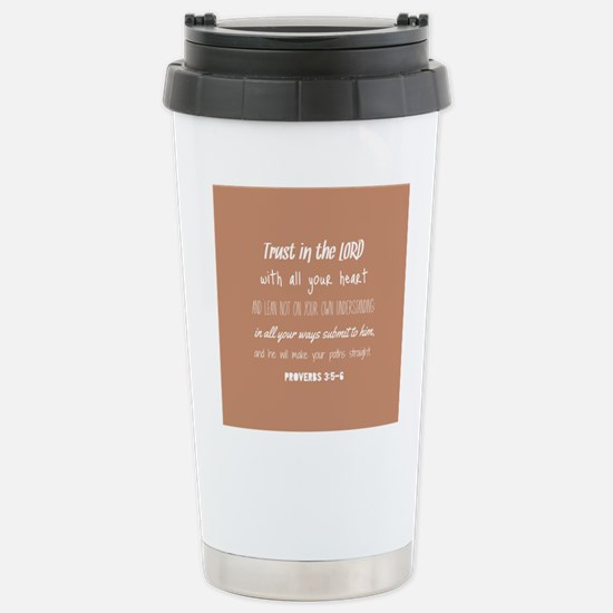 Bible Verse Gifts Prove Stainless Steel Travel Mug