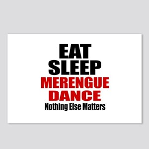 Eat Sleep Merengue Dance Postcards (Package of 8)