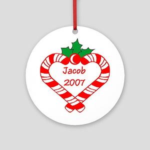 Jacob 2007 Ornament (Round)