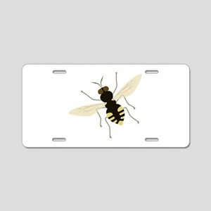 Bee Insect Aluminum License Plate