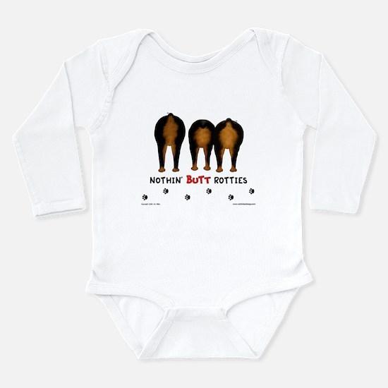 Nothin' Butt Rotties Infant Bodysuit Body Suit