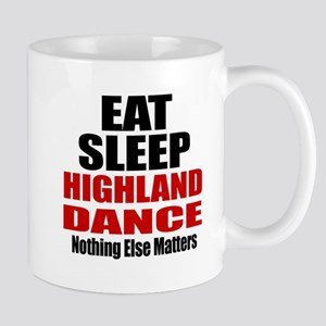 Eat Sleep Highland Dance Mug
