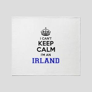 IRLAND I cant keeep calm Throw Blanket