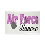 Air Force Fiancee Rectangle Magnet (10 pack)