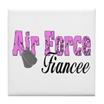 Air Force Fiancee Tile Coaster