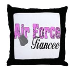 Air Force Fiancee  Throw Pillow