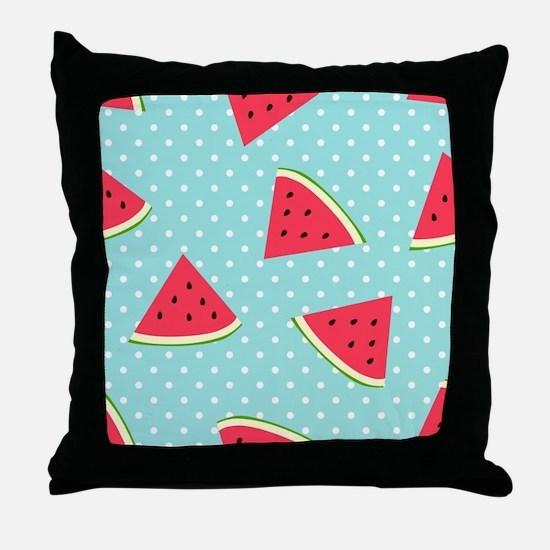 Funny Melon Throw Pillow