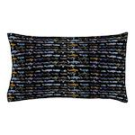 27 Sharks in negative pattern Pillow Case