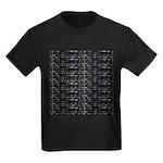 27 Sharks in negative pattern T-Shirt