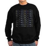 27 Sharks in negative pattern Sweatshirt