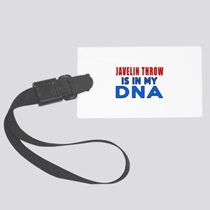 Javelin Throw Is In My DNA Large Luggage Tag