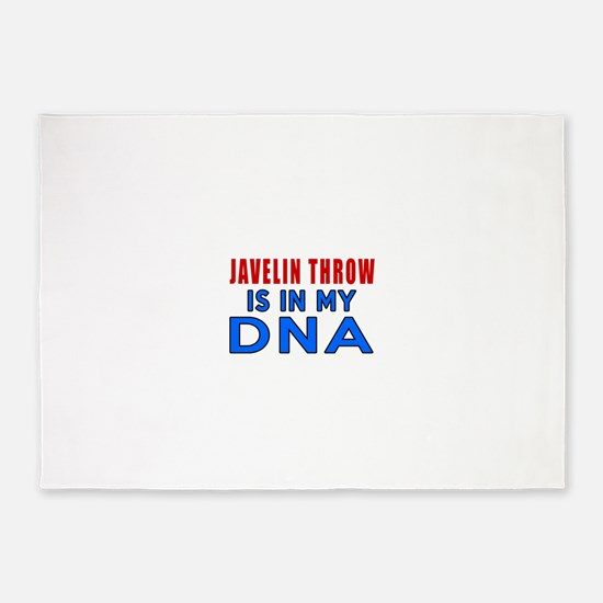 Javelin Throw Is In My DNA 5'x7'Area Rug